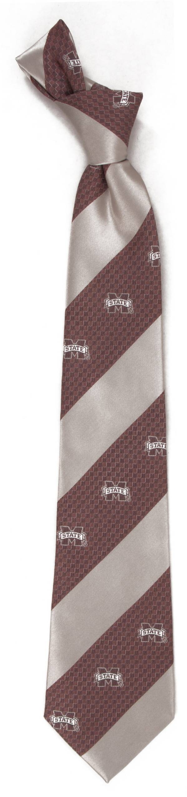 Eagles Wings Mississippi State Bulldogs Geo Stripe Necktie product image