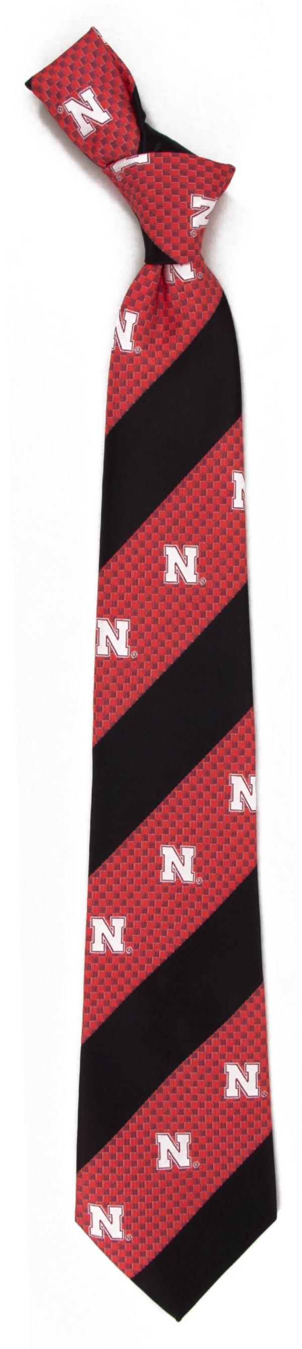 Eagles Wings Nebraska Cornhuskers Geo Stripe Necktie product image