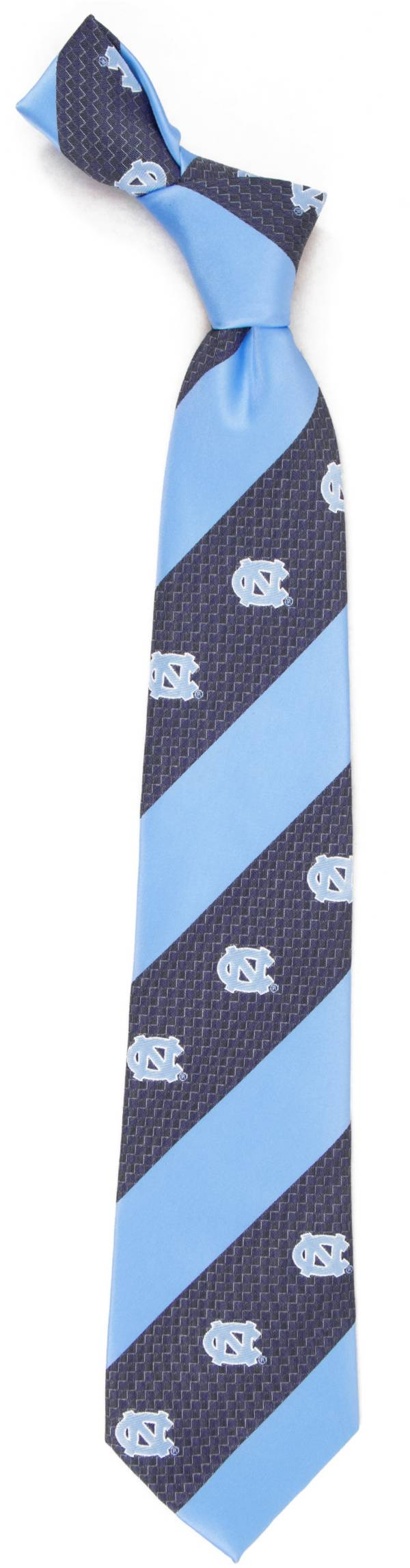 Eagles Wings North Carolina Tar Heels Geo Stripe Necktie product image