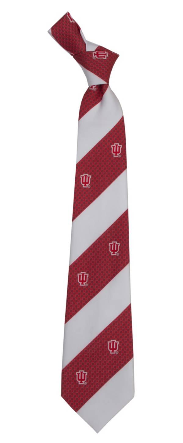 Eagles Wings Indiana Hoosiers Geo Stripe Necktie product image