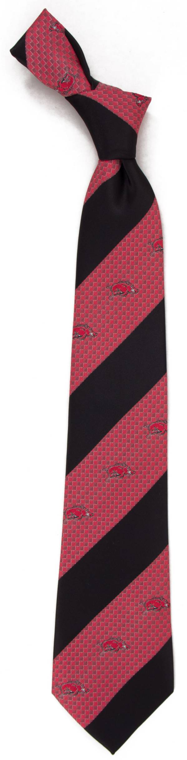 Eagles Wings Arkansas Razorbacks Geo Stripe Necktie product image