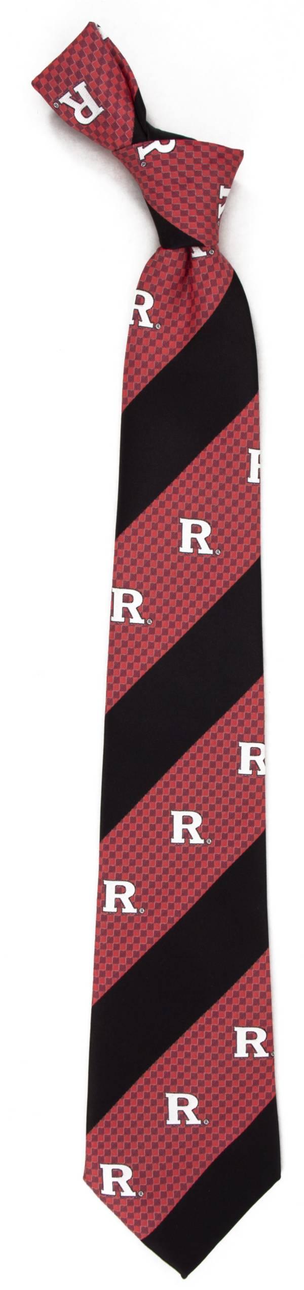 Eagles Wings Rutgers Scarlet Knights Geo Stripe Necktie product image