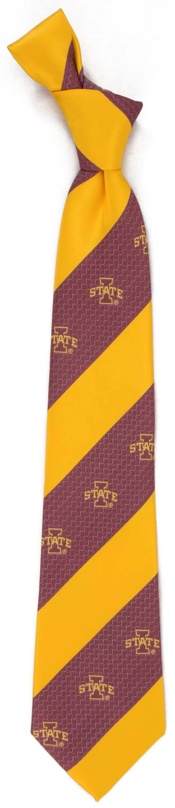 Eagles Wings Iowa State Cyclones Geo Stripe Necktie product image