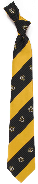 Eagles Wings Boston Bruins Geo Stripe Necktie product image