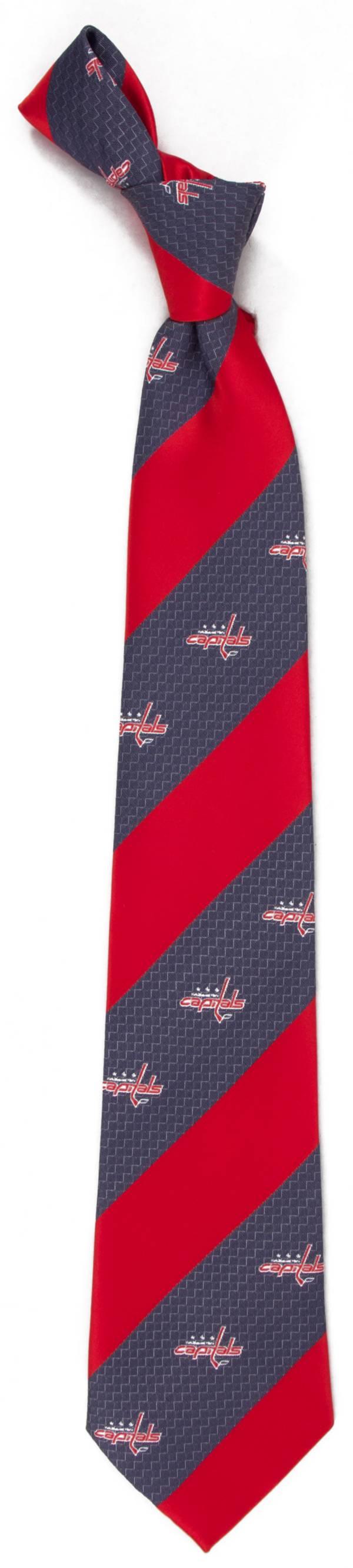 Eagles Wings Washington Capitals Geo Stripe Necktie product image
