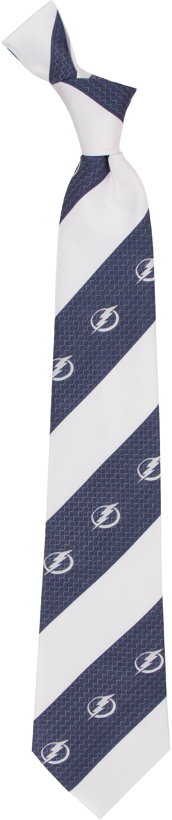 Eagles Wings Tampa Bay Lightning Geo Stripe Necktie product image