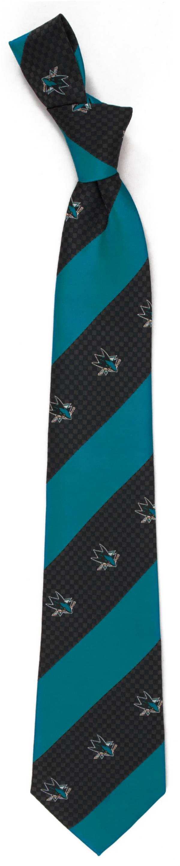 Eagles Wings San Jose Sharks Geo Stripe Necktie product image