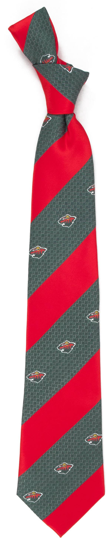 Eagles Wings Minnesota Wild Geo Stripe Necktie product image