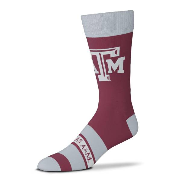 For Bare Feet Texas A&M Aggies Mascot Madness Crew Socks product image