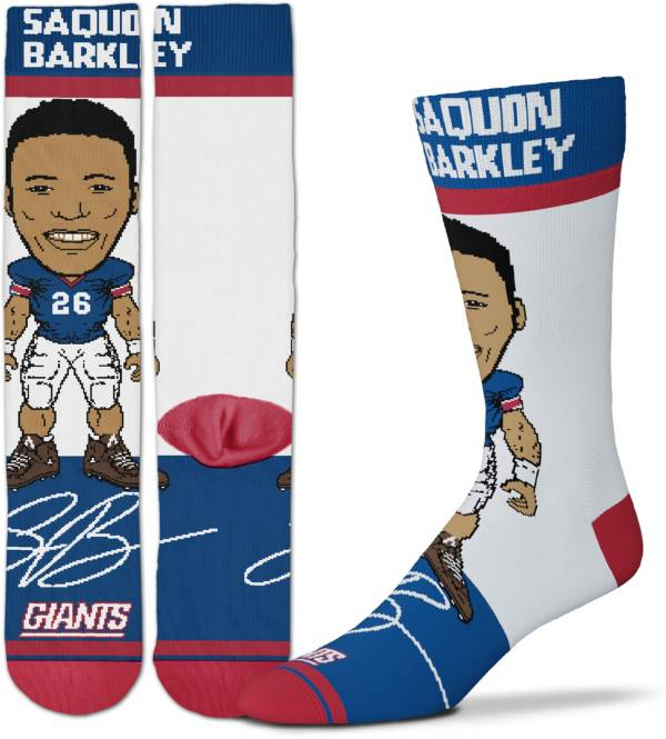 For Bare Feet Youth New York Giants Saquon Barkley Socks product image