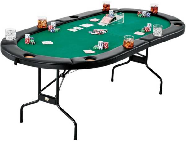 Fat Cat Texas Hold'em Table and Poker Chip Set product image