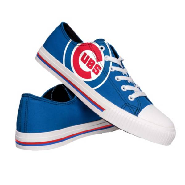 FOCO Chicago Cubs Canvas Shoes product image