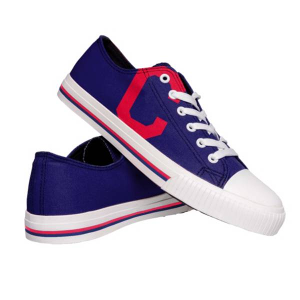FOCO Cleveland Indians Canvas Shoes product image