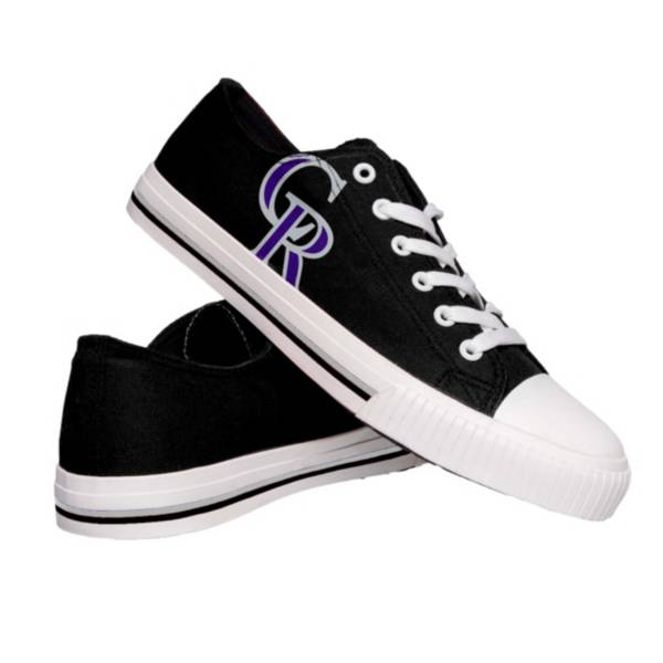 FOCO Colorado Rockies Canvas Shoes product image