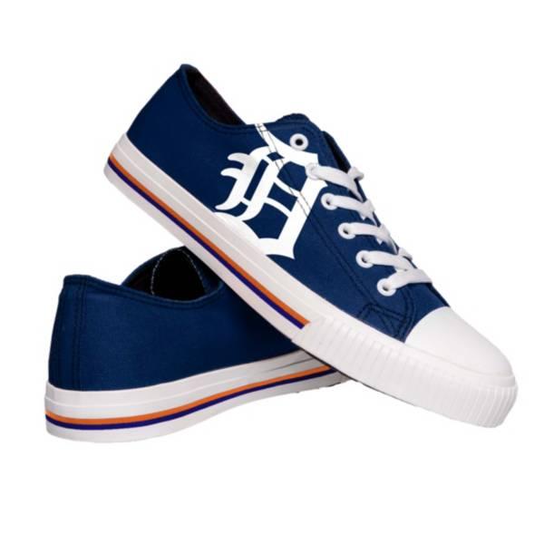 FOCO Detroit Tigers Canvas Shoes product image