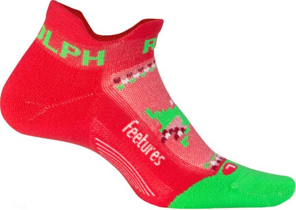 Feetures! Elite Lite Cushion Run Rudolph No Show Socks product image