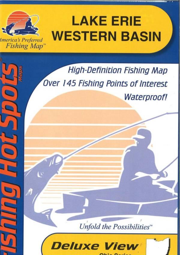 FHS Erie Western Basin Fishing Map product image