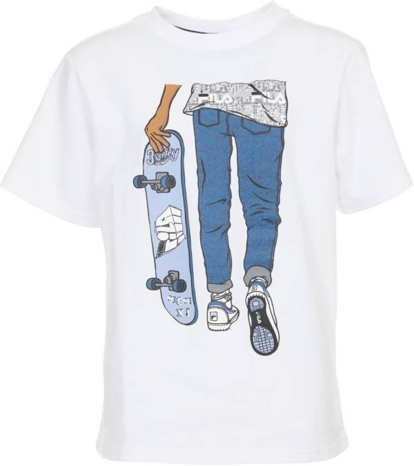 FILA Boys' Chris Short Sleeve Graphic T-Shirt product image