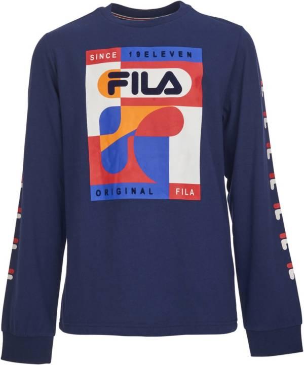 FILA Boys' Will Long Sleeve T-Shirt product image