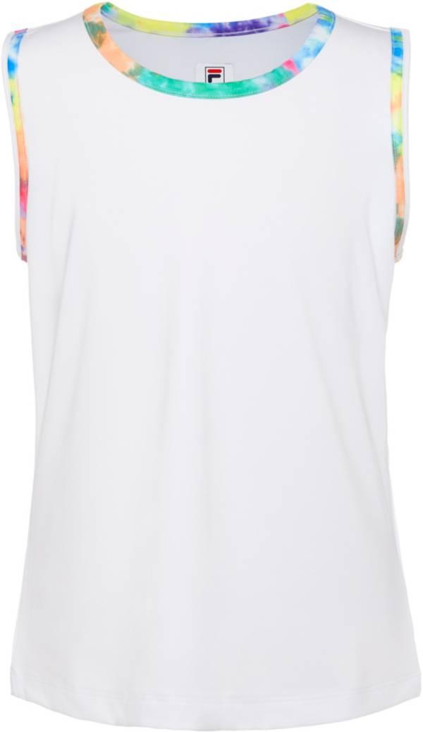 FILA Girls' Full Back Tie Dye Tennis Tank product image