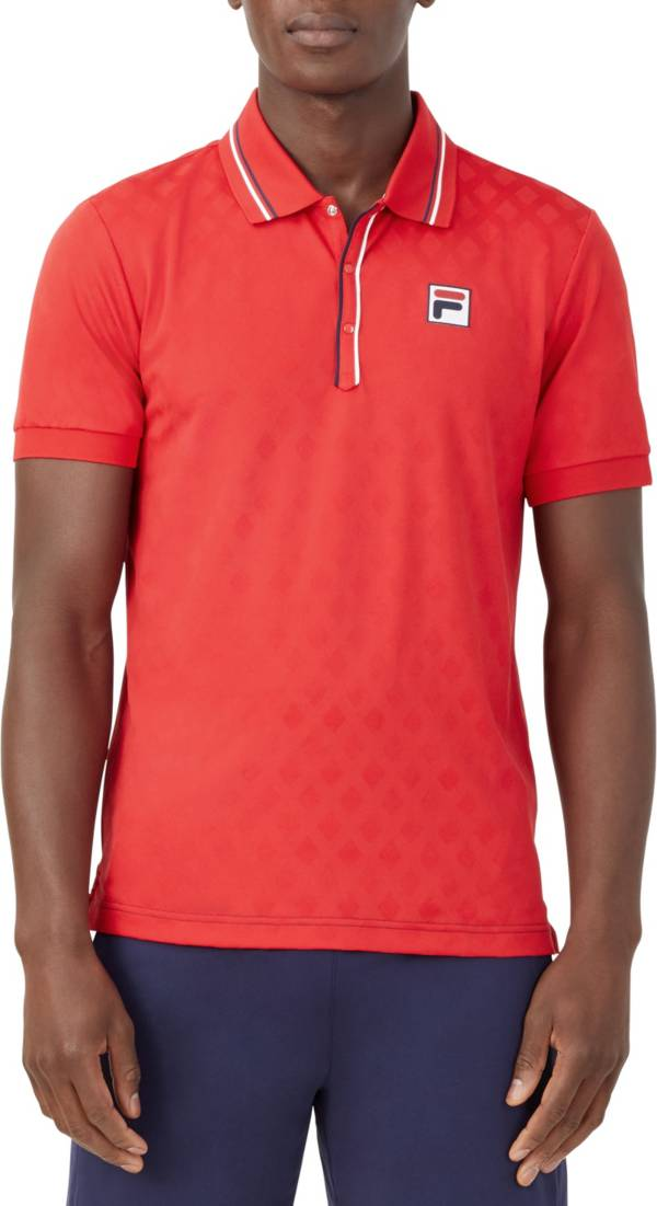 FILA Men's Heritage Tennis Jacquard Polo product image