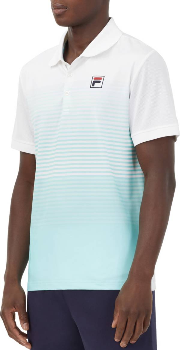 FILA Men's Legend Ombre Stripe Tennis Polo product image