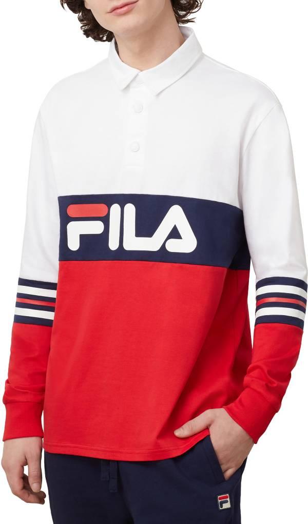 FILA Men's Syd Long Sleeve Polo product image