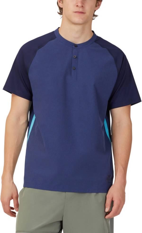 FILA Men's Tie Breaker Henley Short Sleeve Tennis Shirt product image