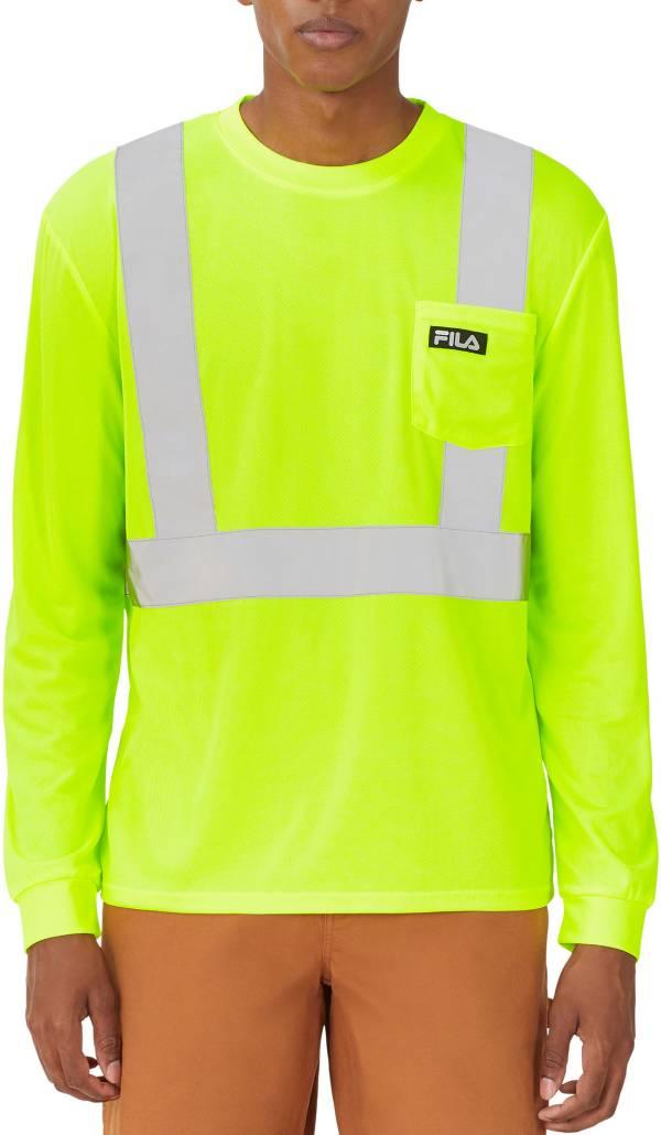 FILA Adult High Visibility Long Sleeve Pocket Shirt product image