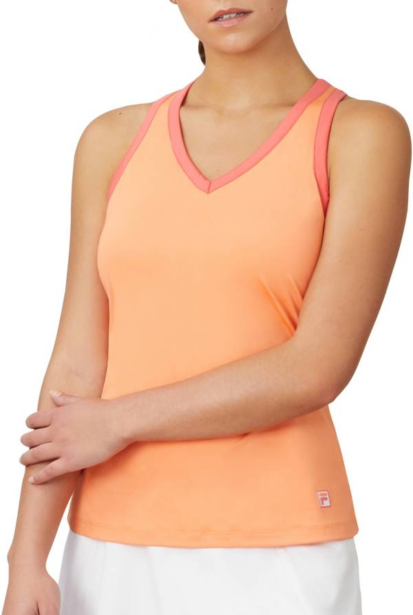 FILA Women's Mad for Plaid Cross Back Cami Tank Top product image