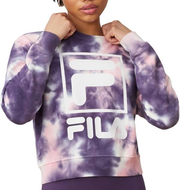 FILA Women's Ashley Tie Dye Crewneck Sweatshirt product image