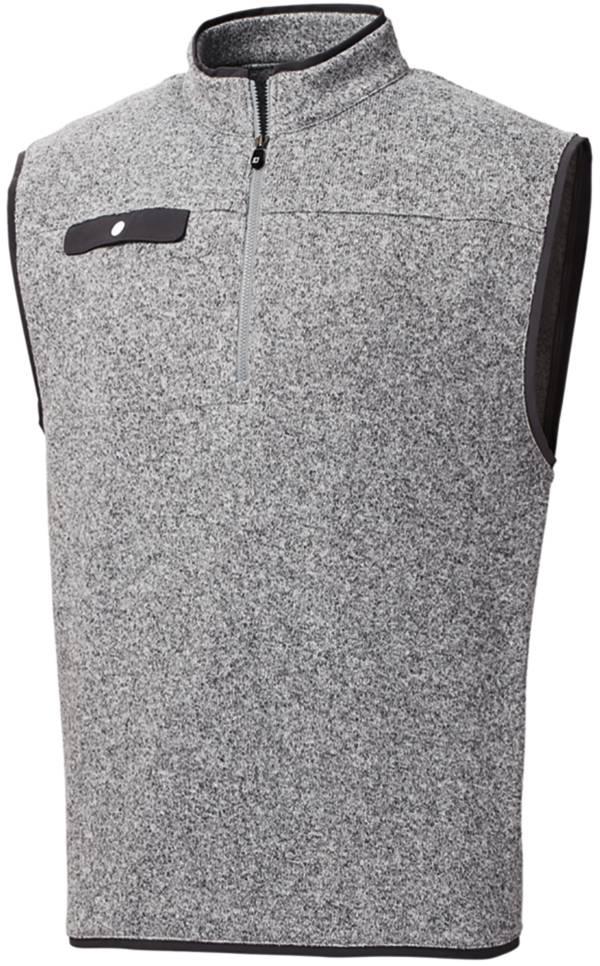 FootJoy Men's Sweater Fleece ¼ Zip Golf Vest product image