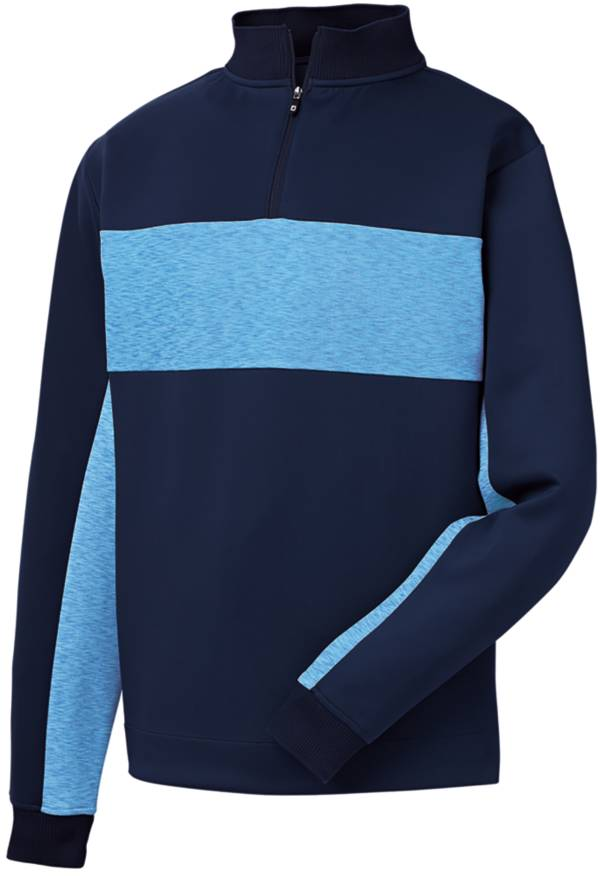 FootJoy Men's Double Jersey Pieced ¼ Zip Golf Pullover product image