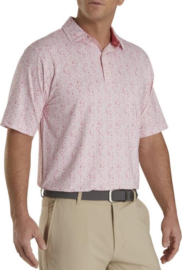 FootJoy Men's Daisy Print Golf Polo product image
