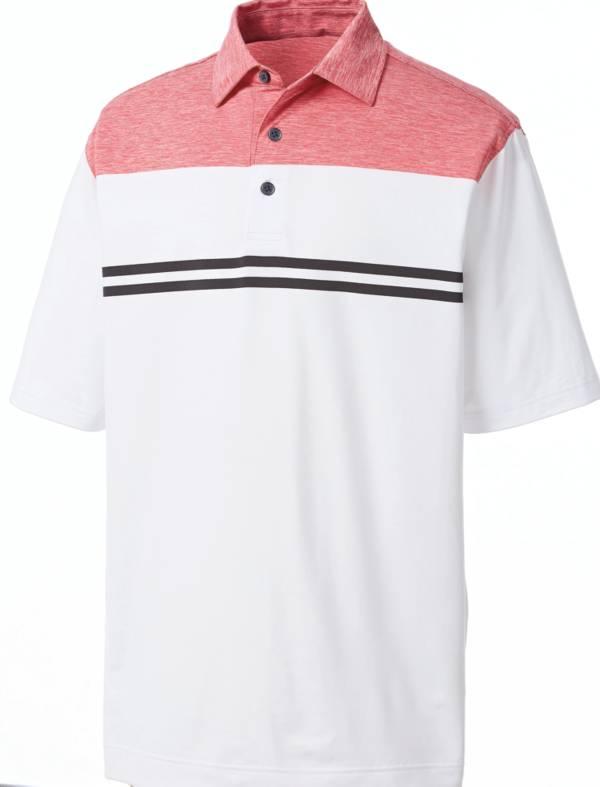 FootJoy Mens Heather Colorblock Short Sleeve Golf Polo product image