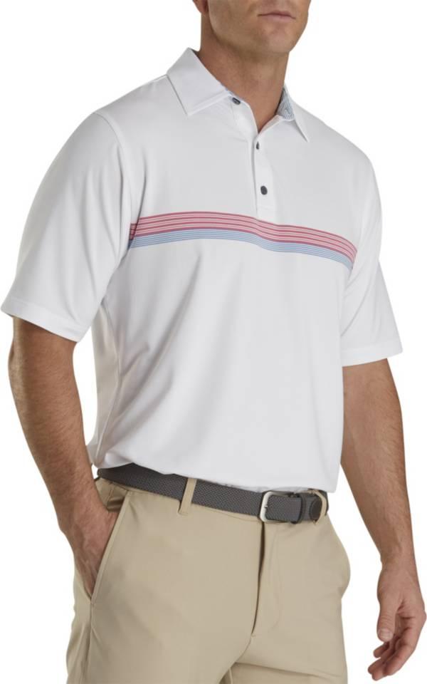 FootJoy Men's Lisle Chestband Golf Polo product image