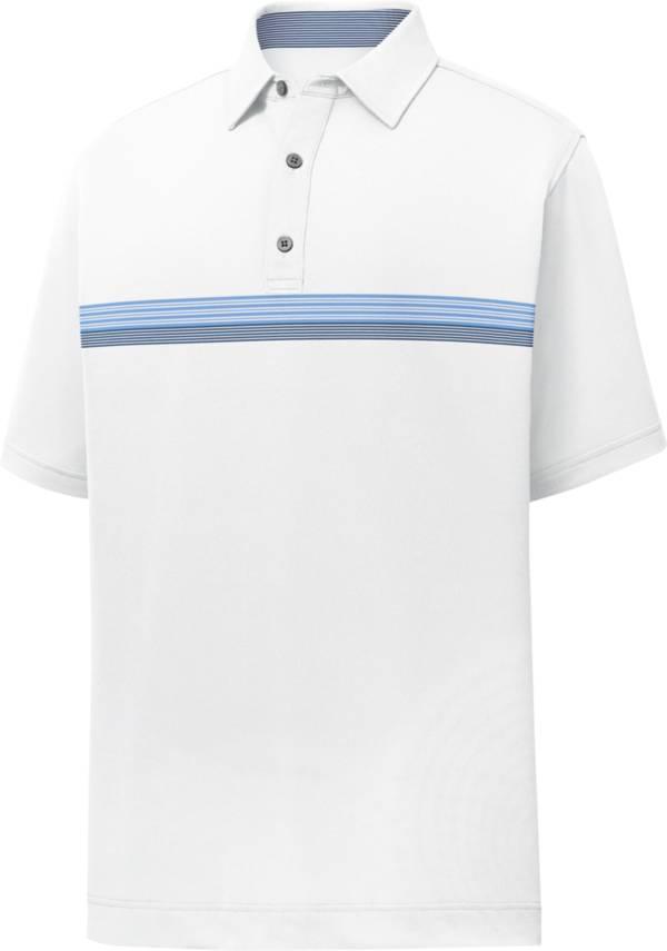 FootJoy Men's Lisle Chestband Short Sleeve Golf Polo product image