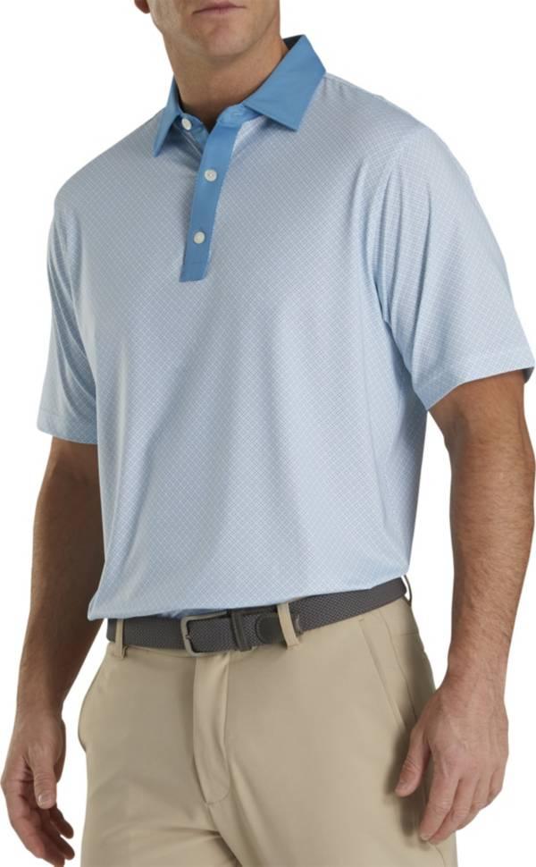 FootJoy Men's Lisle Foulard Print Golf Polo product image