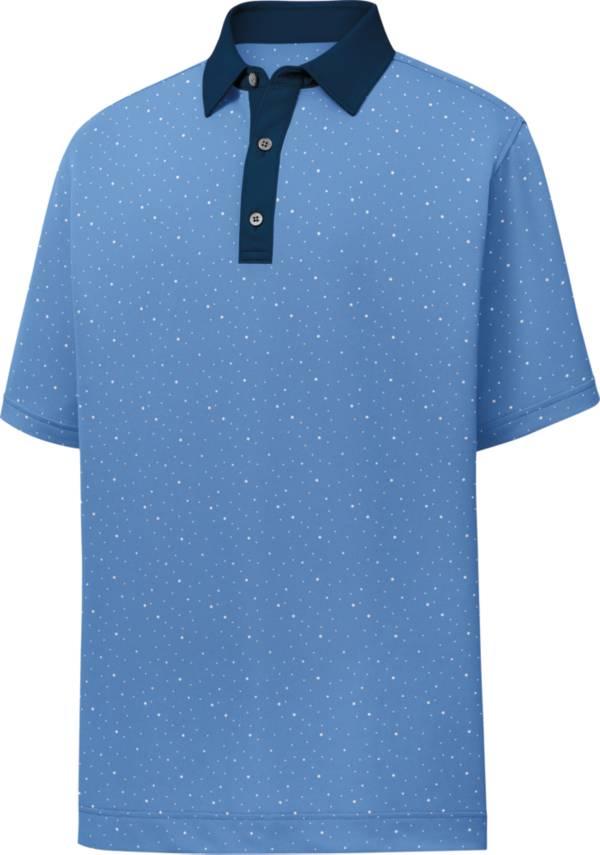 FootJoy Men's Lisle Multidot Print Short Sleeve Golf Polo product image
