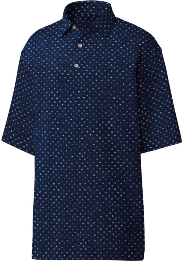 FootJoy Men's Lisle Batik Circle Print Golf Polo product image