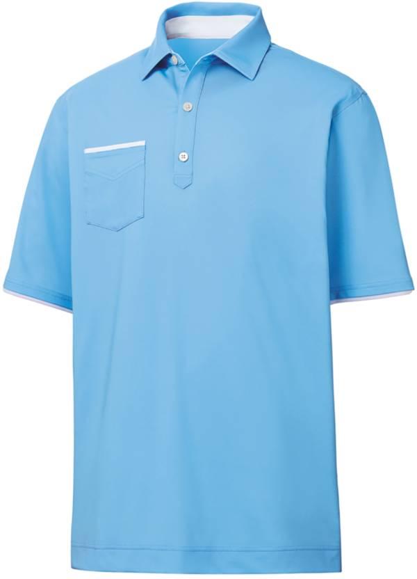 FootJoy Men's Lisle Faux Layer Golf Polo product image