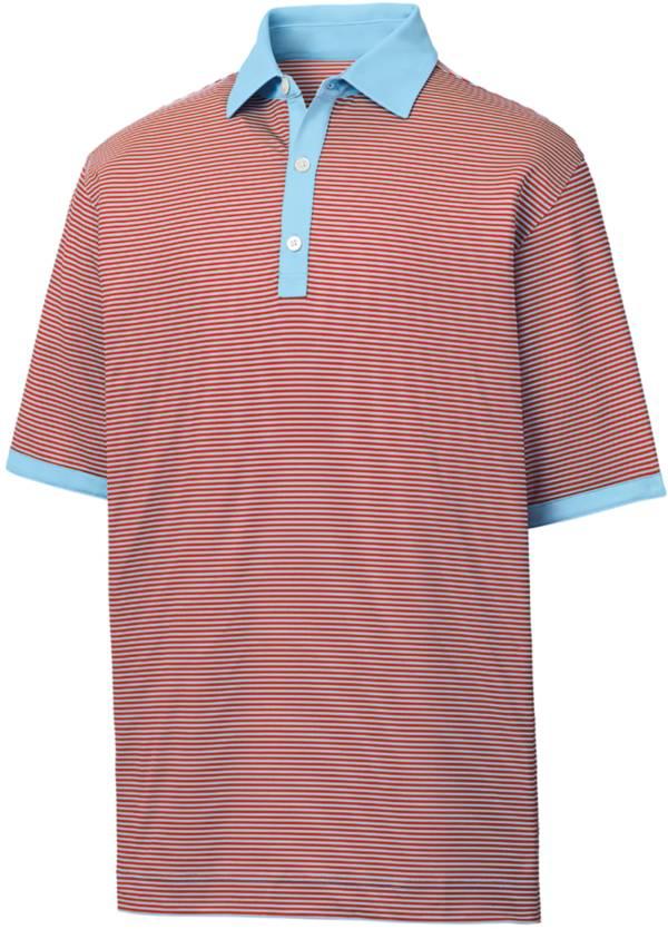 FootJoy Men's Lisle Stripe Golf Polo product image