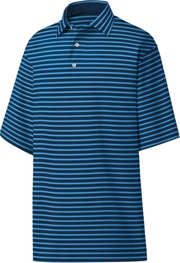 FootJoy Men's Lisle 2-Color Stripe Golf Polo product image