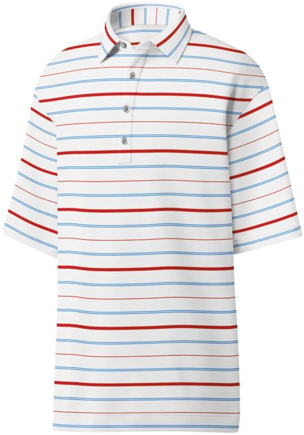 FootJoy Men's Lisle Multi Stripe Golf Polo product image