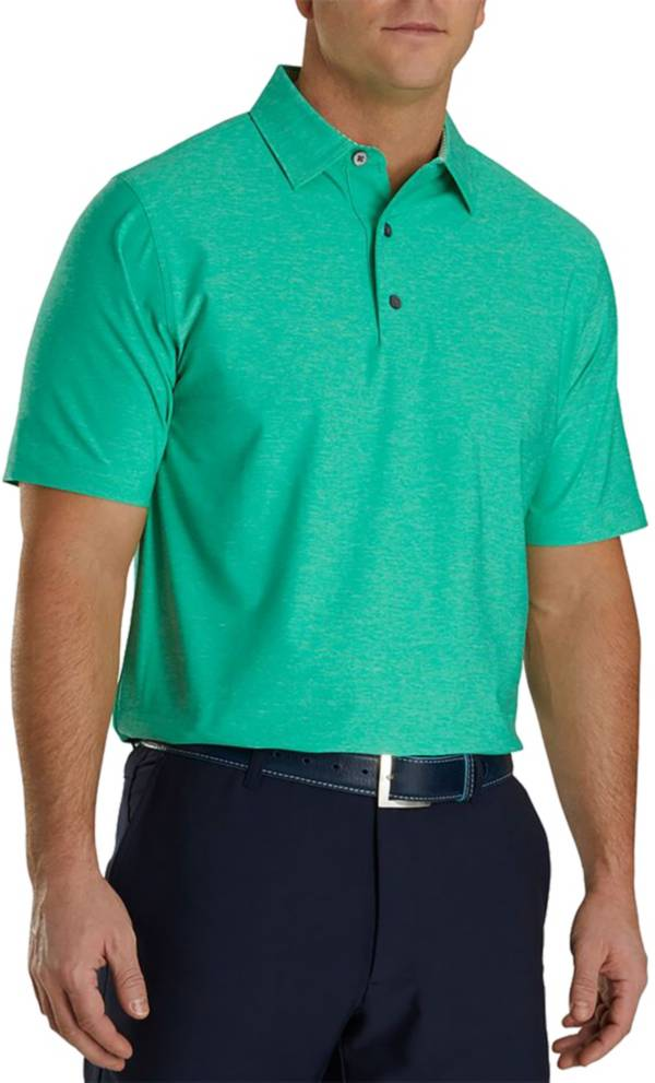 FootJoy Men's Lisle Golf Polo - Heather product image