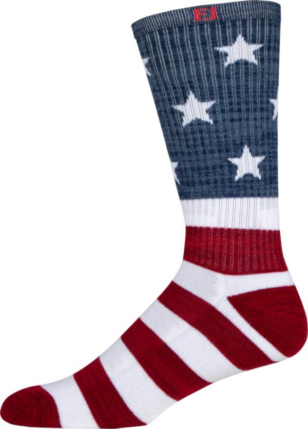 Footjoy Men's ProDry Patriotic Crew Golf Socks product image