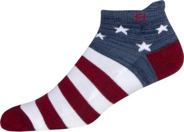 FootJoy Men's ProDry Roll Tab Patriotic Flag Stripes Golf Socks product image
