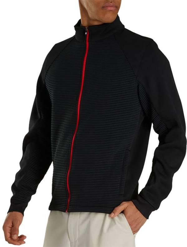 FootJoy Men's Ribbed Fleece Full-Zip Golf Jacket product image