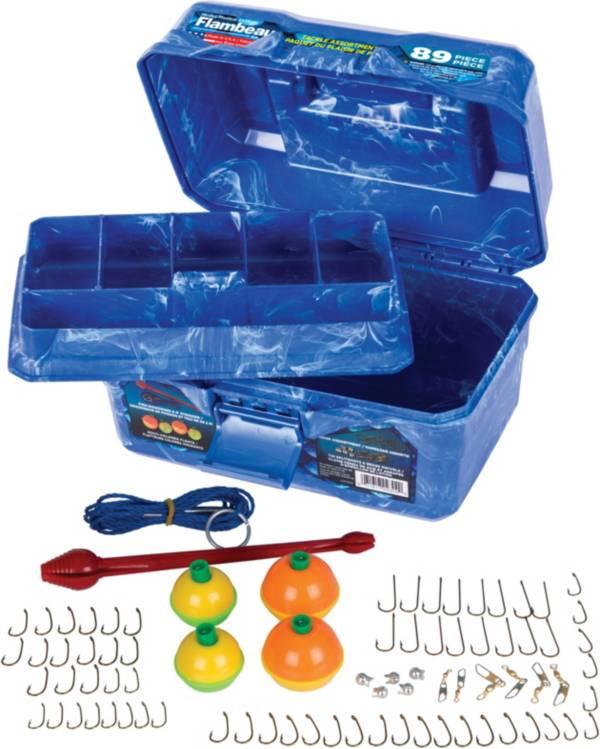 """Flambeau """"IKE"""" Big Mouth 89-Piece Tackle Box Kit product image"""