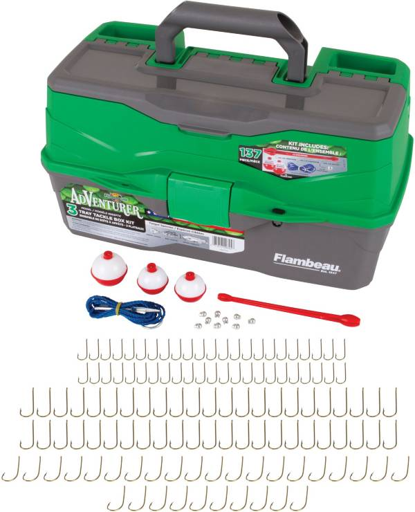 Flambeau Adventurer 3-Tray 137-Piece Tackle Box Kit product image